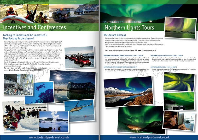 Iceland Protravel Brochures
